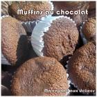 Muffins au chocolat au babeurre