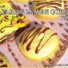 Bavarois lemon curd fraise