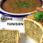 Tajine tunisien en croute feuilleté