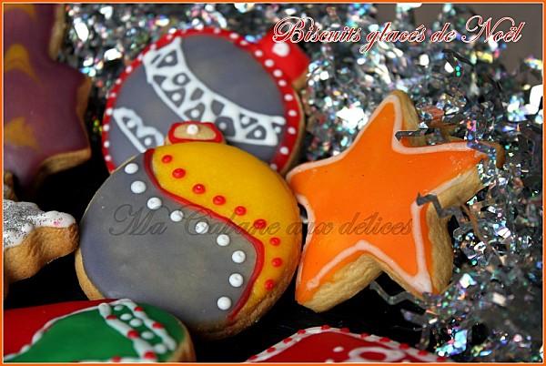 Biscuits glaces moelleux de Noel photo 2