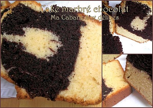 Gateau marbré chocolat photo 2