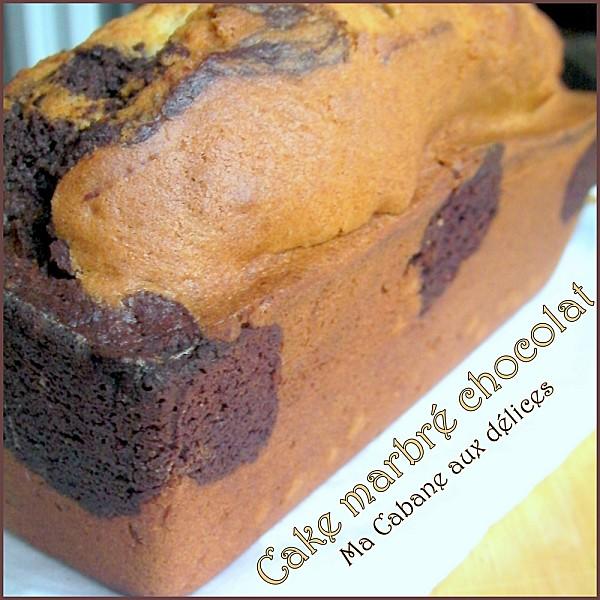 Gateau marbré chocolat photo 3
