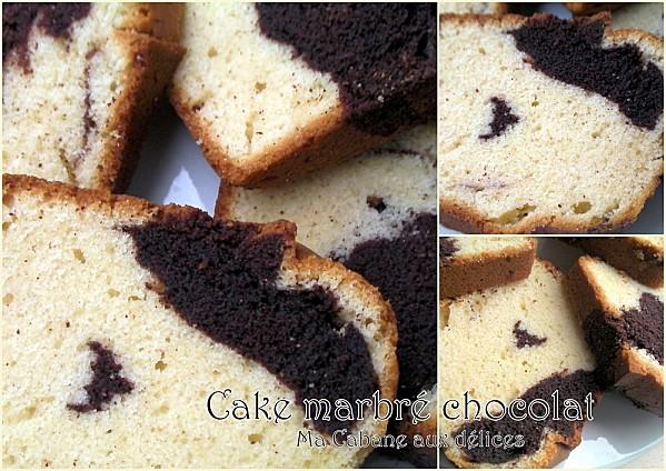Gateau marbré chocolat photo 4
