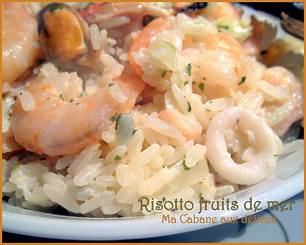 Risotto fruits de mer photo 1