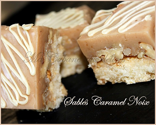 Sables caramel noix photo 1