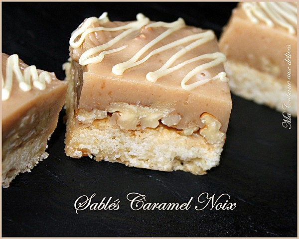Sables caramel noix photo 2