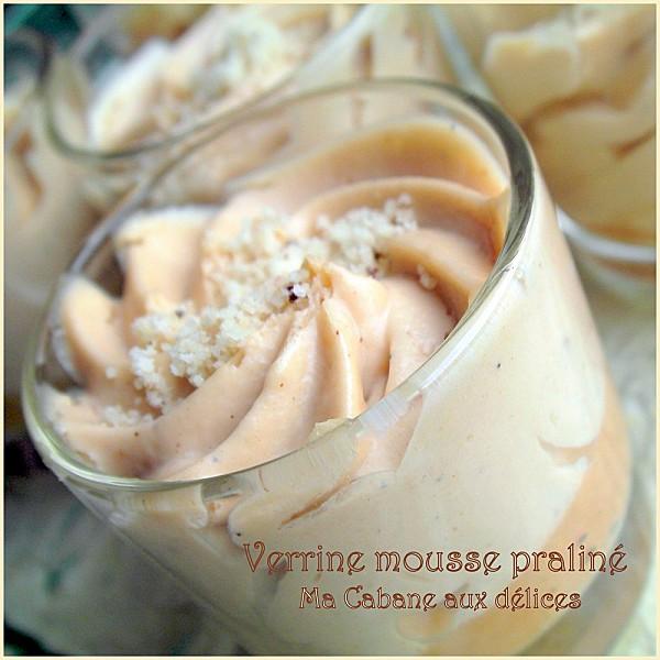 Verrine mousse pralin la cuisine de djouza - Mousse pour canape marocain ...