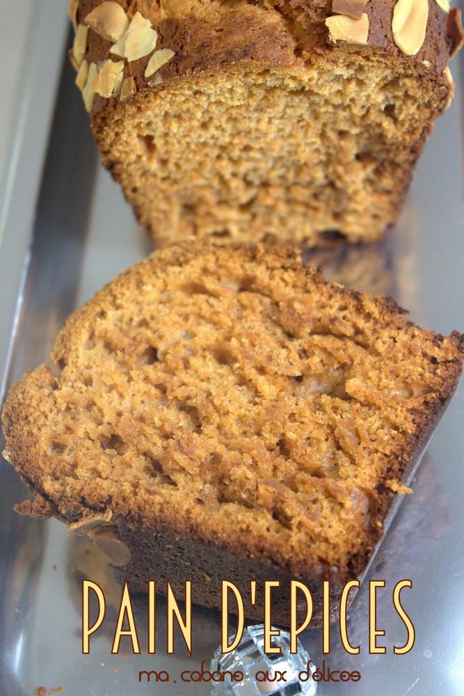 pain d'épices moelleux au miel