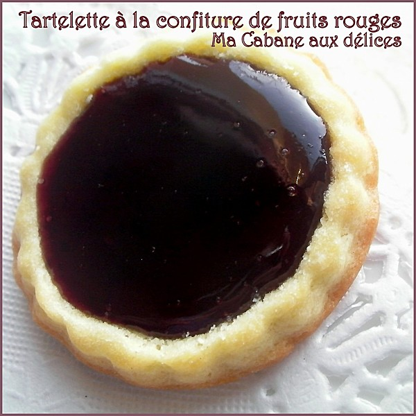 Tartelette confiture fruits rouges photo 1