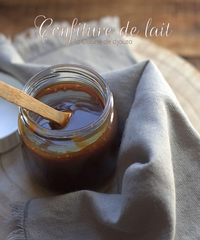 Confiture de lait recette facile de Cyril Lignac