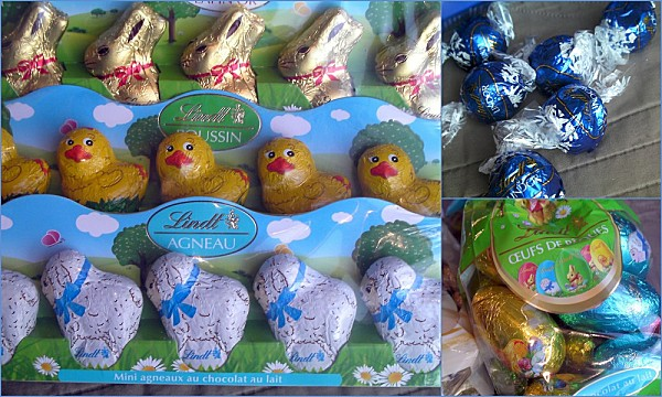 Partenariat Lindt chocolat paques photo 2