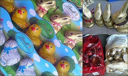 Partenariat Lindt chocolat paques