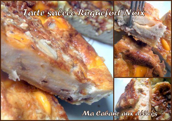 tartelettes salées au roquefort et noix