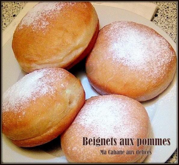 Recette beignet aux pommes facile recettes faciles - Recette beignet au sucre moelleux ...