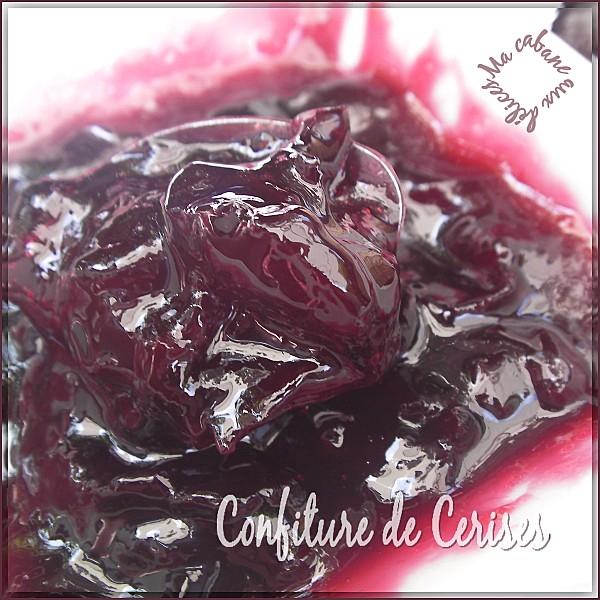 Confiture de cerises photo 1