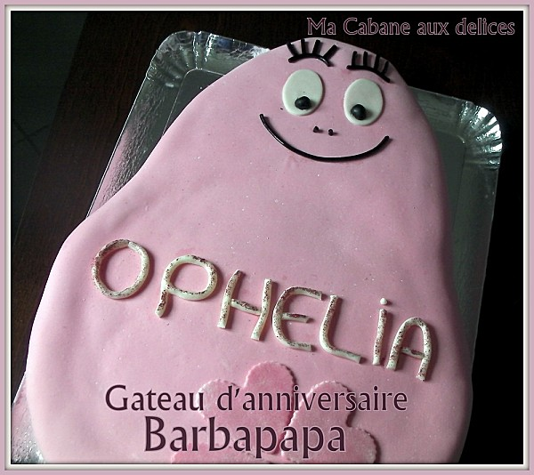 Gateau Barbapapa photo 2