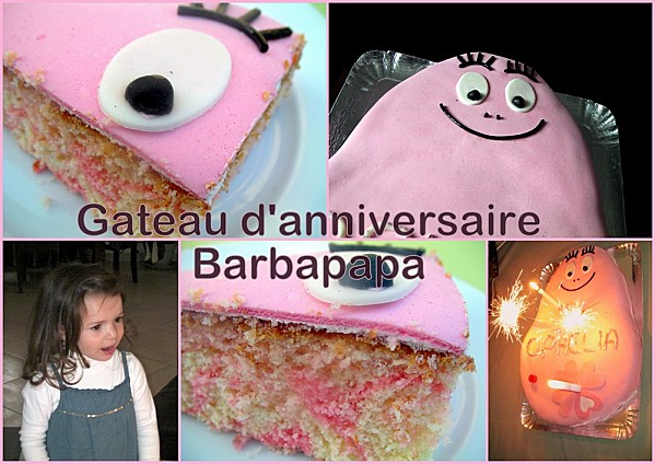Gateau Barbapapa photo 3