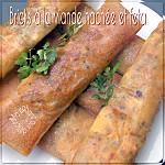 Brick ou bourek viande hachée feta
