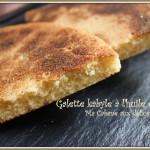 Galette harcha kabyle huile d'olives