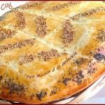Khobz dar a la semoule, pain maison