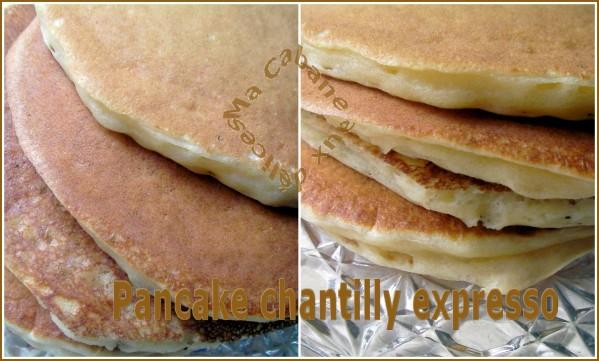 pancakes en cuisson