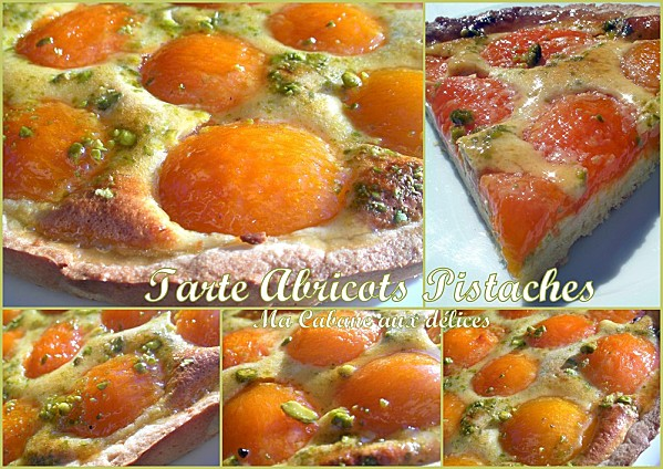 Tarte aux abricots pistaches photo 4