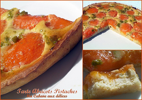 tarte aux abricots pistaches photo 2