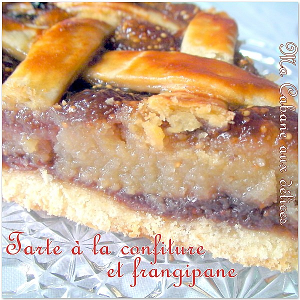 Tarte frangipane confiture photo 4