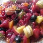 Tarte génoise aux fruits frais