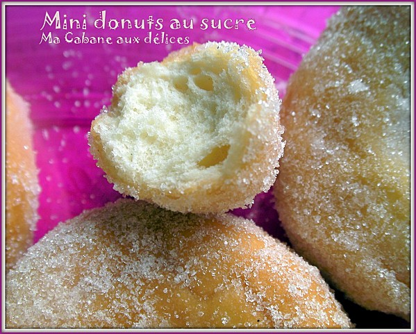 mini donuts au sucre photo 3
