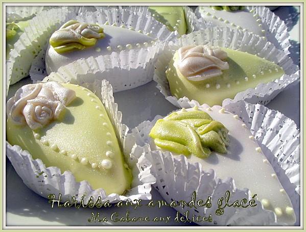 Harissa glace aux amandes photo 2