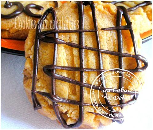 Cookies aux cacahuètes 005