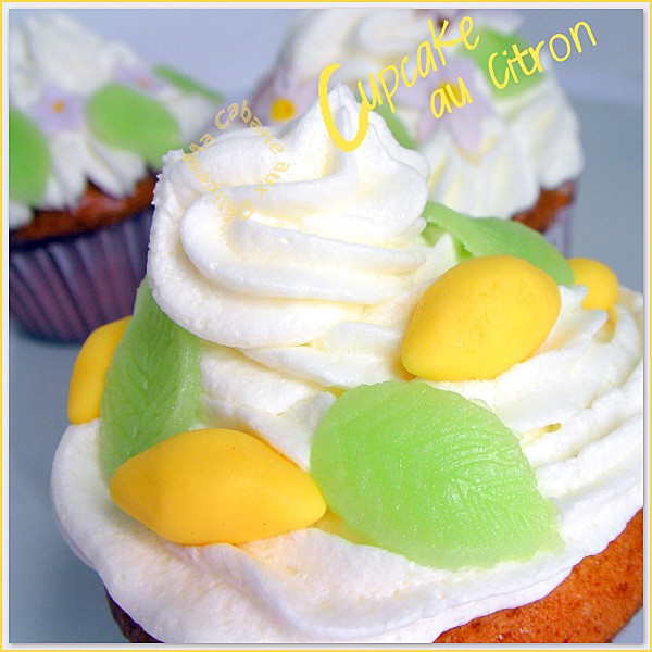 Cupcake au citron photo 4