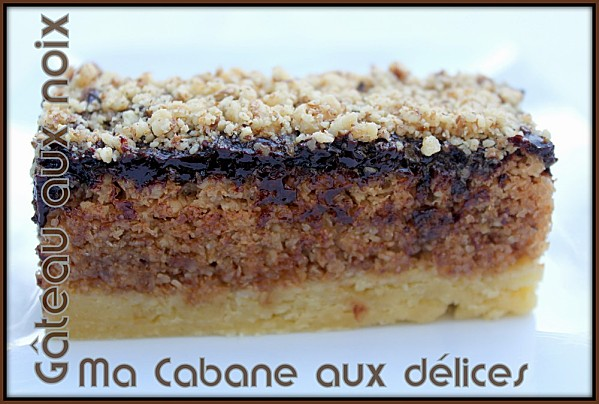 Gateau aux noix photo 1