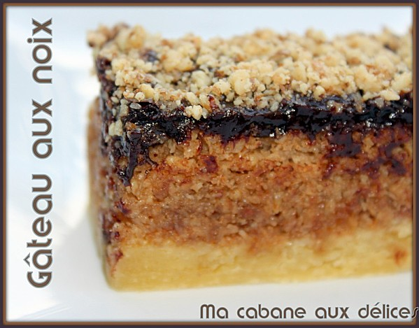 Gateau aux noix photo 2