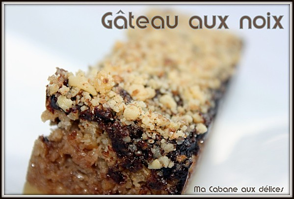 Gateau aux noix photo 3