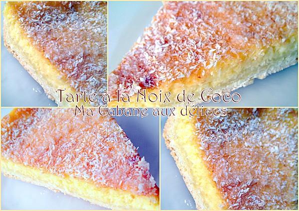 tarte noix de coco | recettes faciles, recettes rapides de djouza