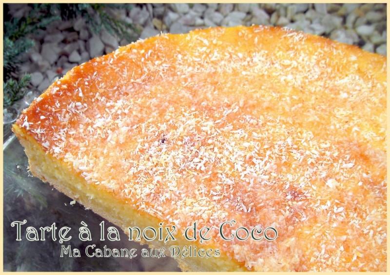 Tarte noix de coco recettes faciles recettes rapides de djouza - La cuisine de a a z ...