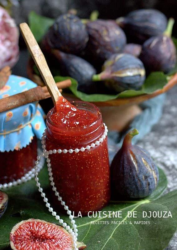Recette de confiture de figue cannelle