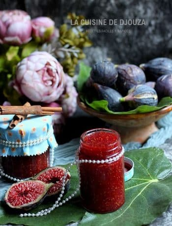 Recette confiture figues cannelle