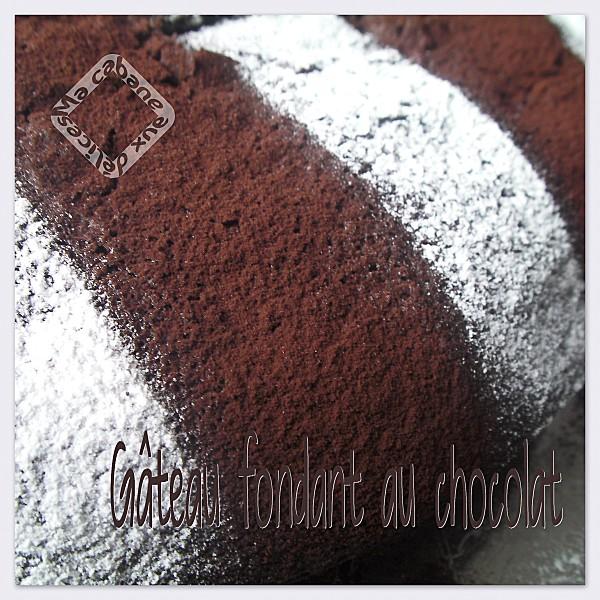 gateau fondant chocolat photo 1