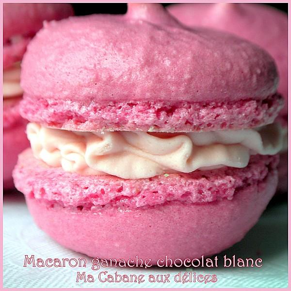 Macarons ganache chocolat blanc photo 2