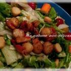 Salade fraicheur aux St Jacques