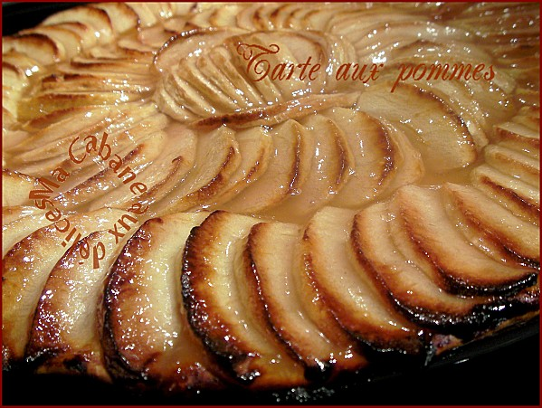 recette tarte fine aux pommes la cuisine de djouza. Black Bedroom Furniture Sets. Home Design Ideas