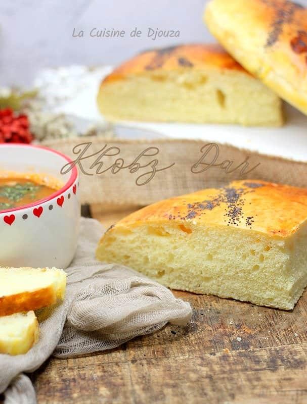 pain au four algérien