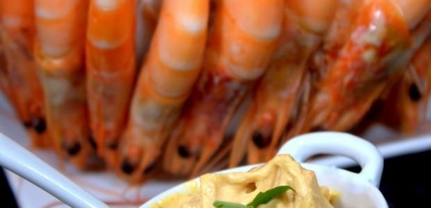 Mayonnaise maison pour crevette