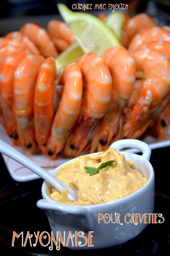 Mayonnaise maison pour crevettes