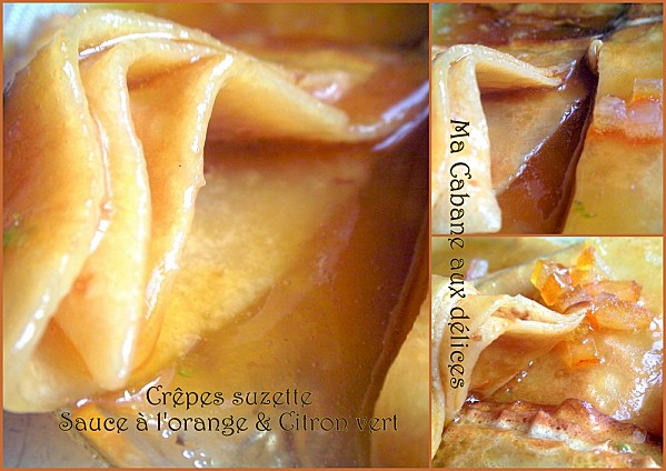 Crêpes suzette photo 5