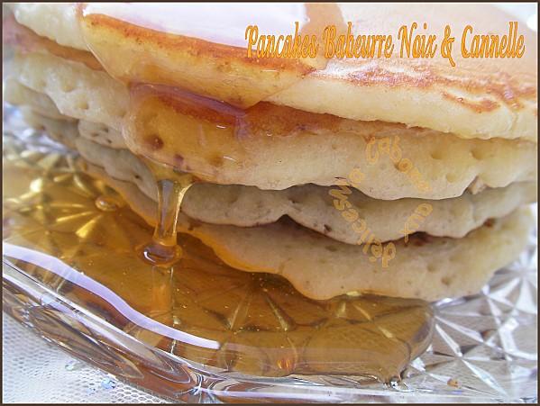 Pancakes babeurre et noix 006