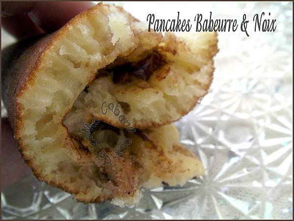 Pancakes babeurre et noix (10)